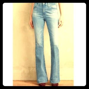AG Janis high waisted flare jeans